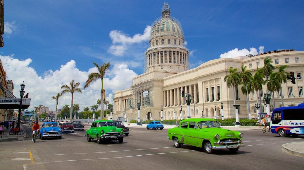 Cuba featuring heritage architecture