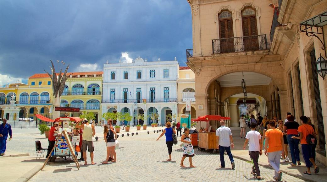 Plaza Vieja featuring tori