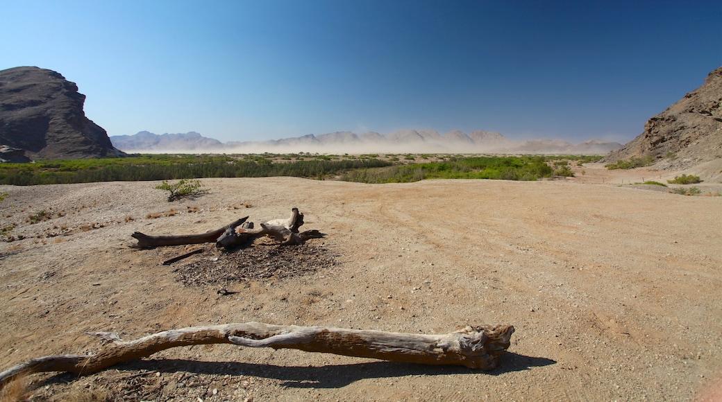 Namibia welches beinhaltet Landschaften, Wüstenblick und ruhige Szenerie