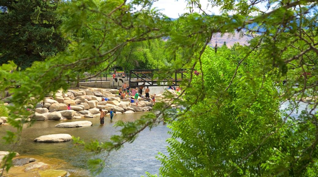 Reno which includes a river or creek and a bridge