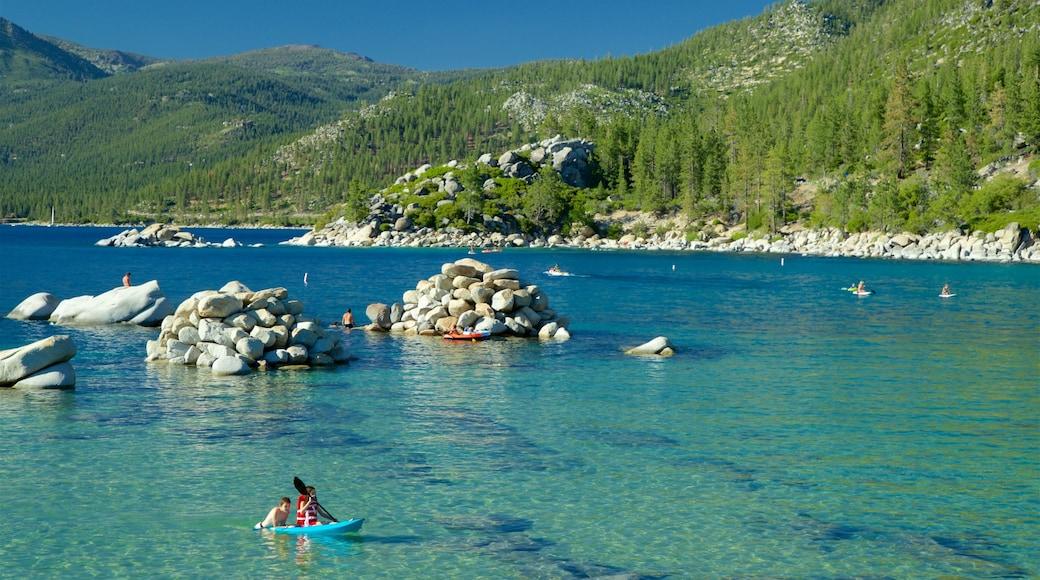 Sand Harbor of Lake Tahoe Nevada State Park