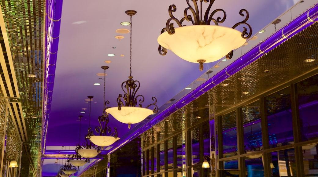 Reno which includes interior views and a casino