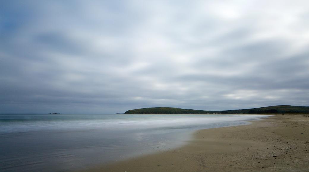 Strand von Doran mit einem allgemeine Küstenansicht und Strand
