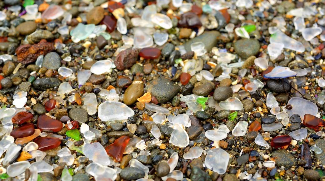 Glass Beach featuring a pebble beach