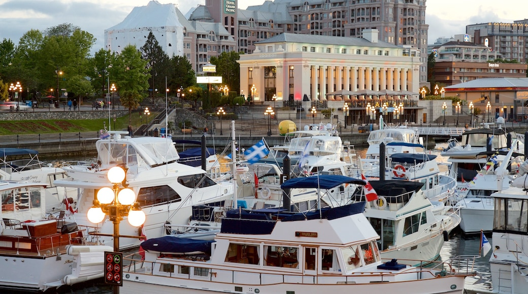 Victoria Harbour featuring a bay or harbor and heritage elements