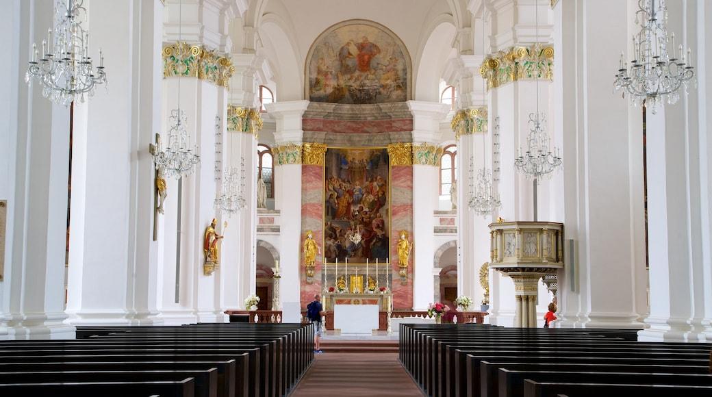 Heidelberg das einen Geschichtliches, Kirche oder Kathedrale und Innenansichten