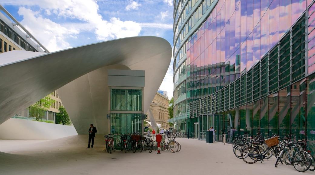 Frankfurt das einen Outdoor-Kunst