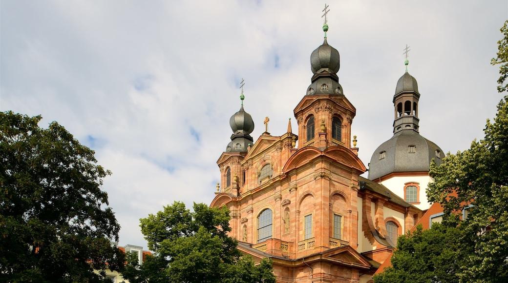 Mannheim Jesuit Church qui includes patrimoine historique