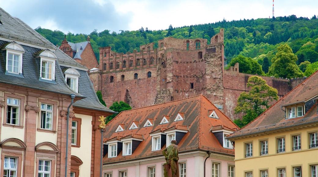 Heidelberg mit einem Geschichtliches