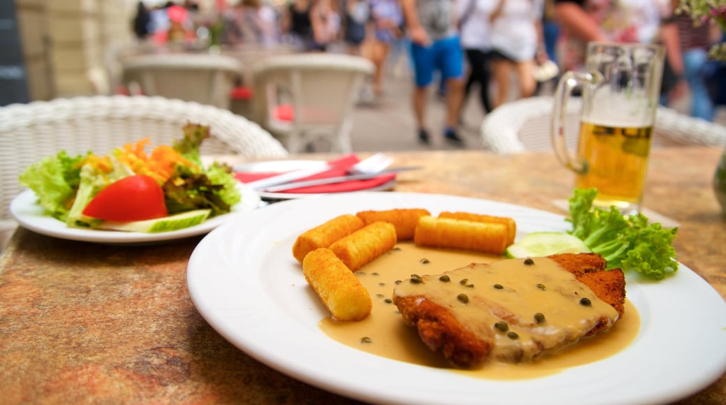 Heidelberg mit einem Speisen