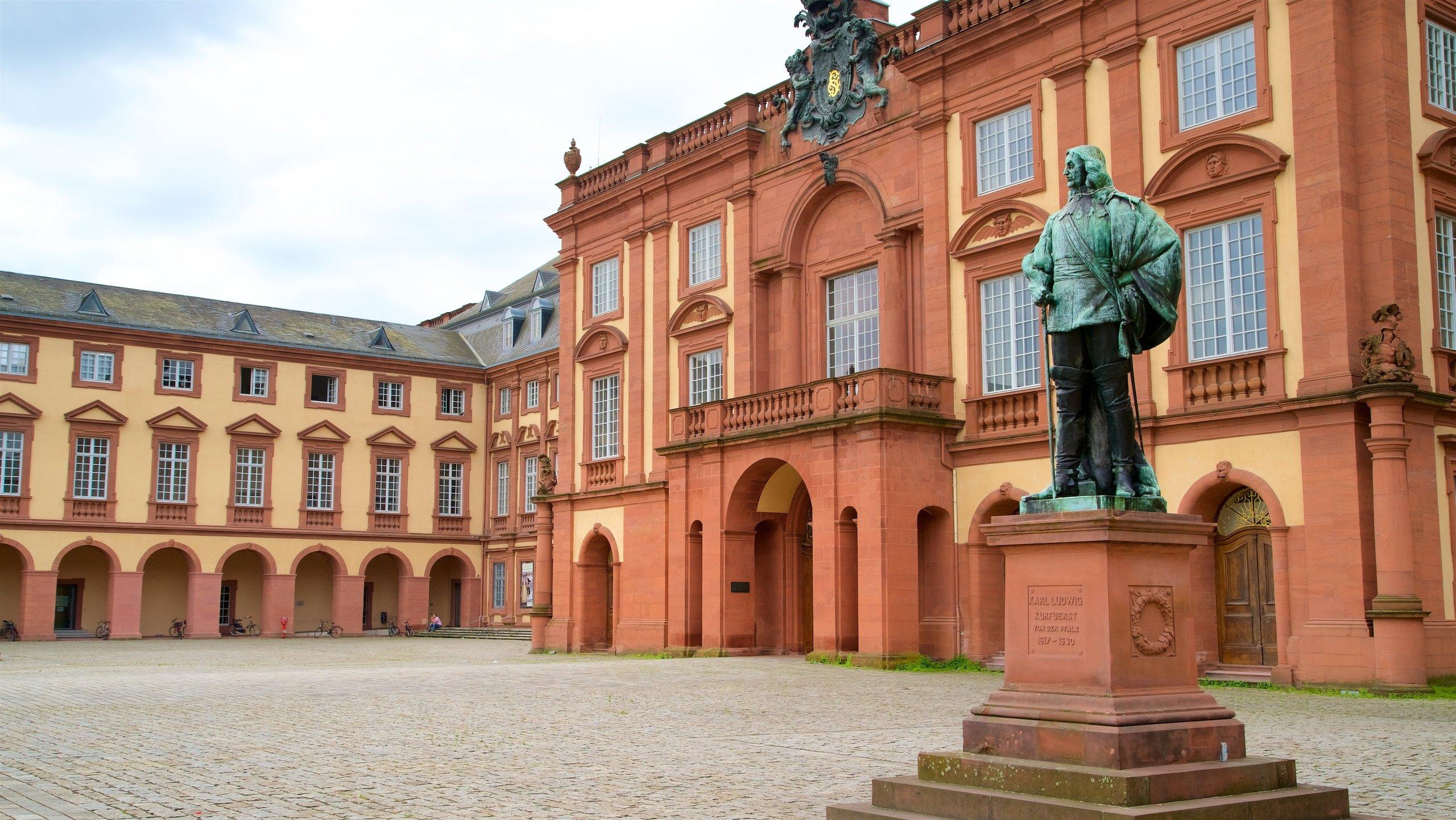 Mannheim Palace, Mannheim, Baden-Württemberg, Germany