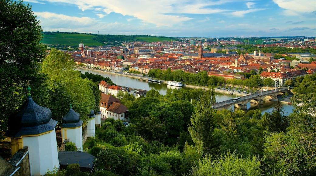 Würzburg welches beinhaltet Geschichtliches, Landschaften und Stadt