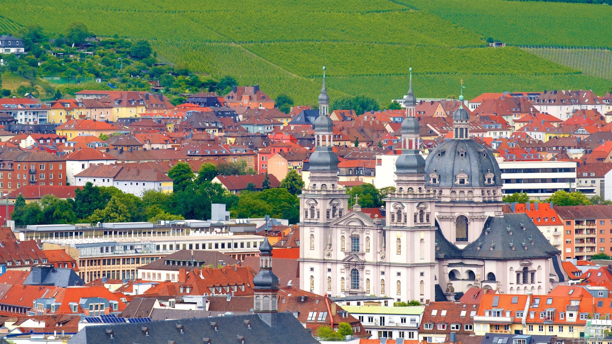Landkreis Würzburg, Bayern, Deutschland