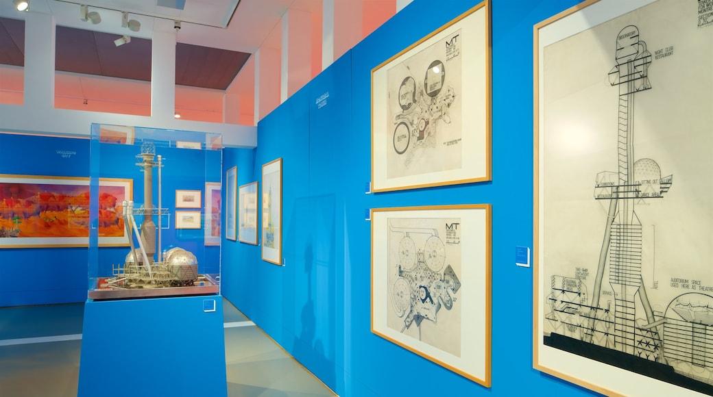 German Architecture Museum showing interior views
