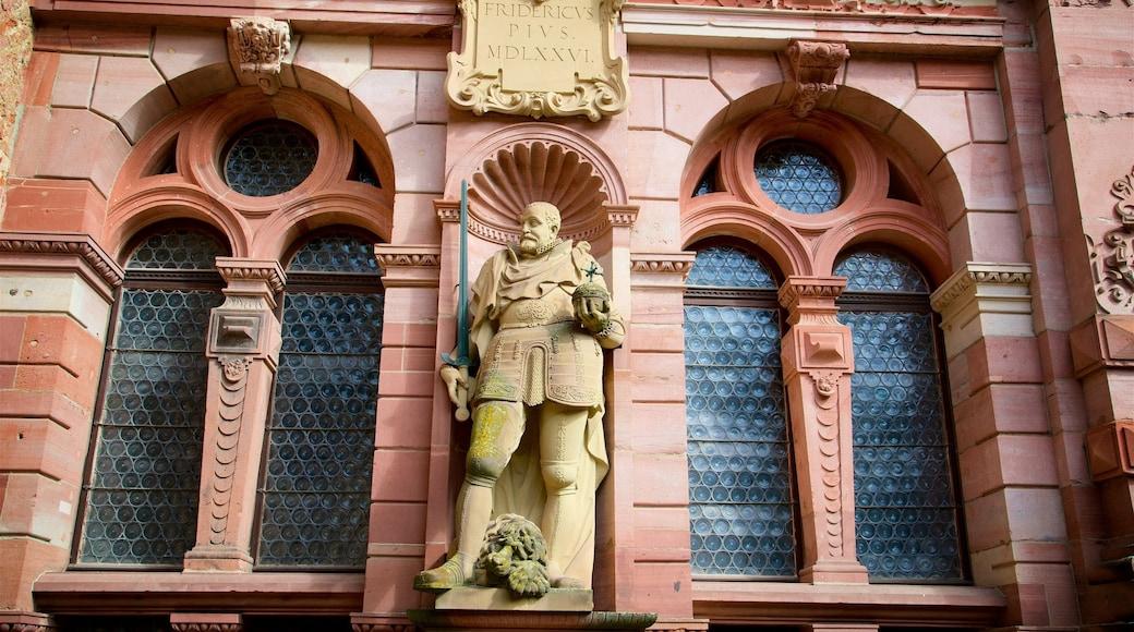 Heidelberger Schloss das einen Geschichtliches