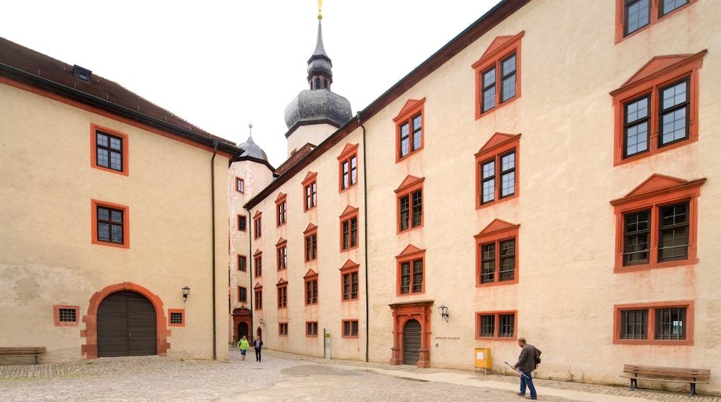 Festung Marienberg das einen Platz oder Plaza und Geschichtliches