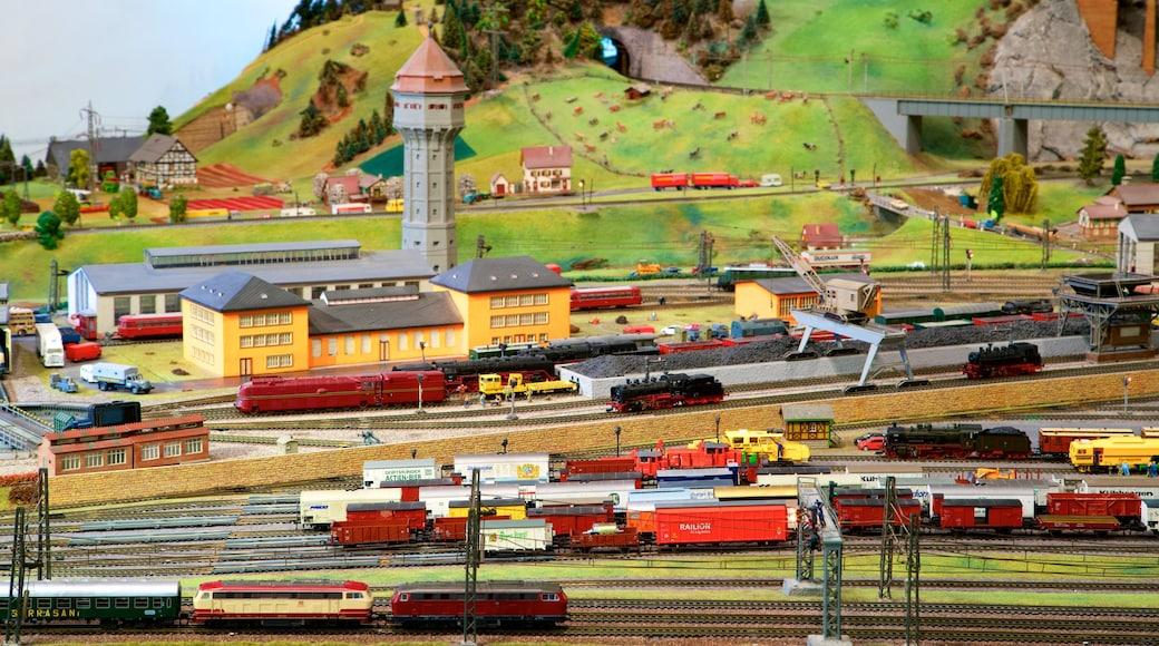 German National Railway Museum featuring interior views