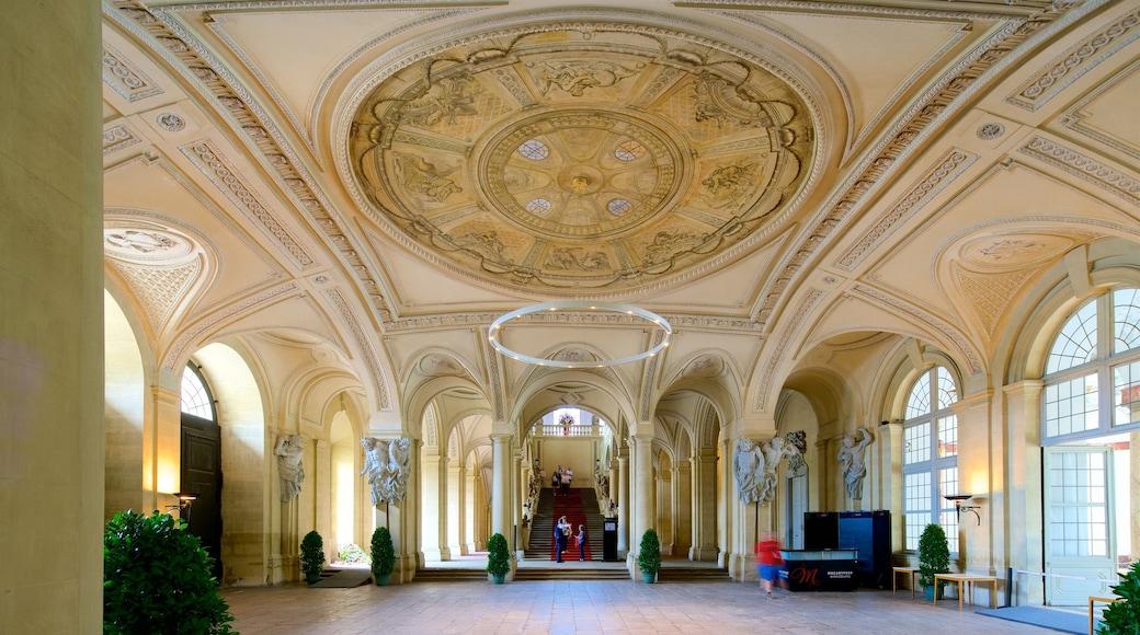 Würzburger Residenz das einen Kunst, Innenansichten und Geschichtliches