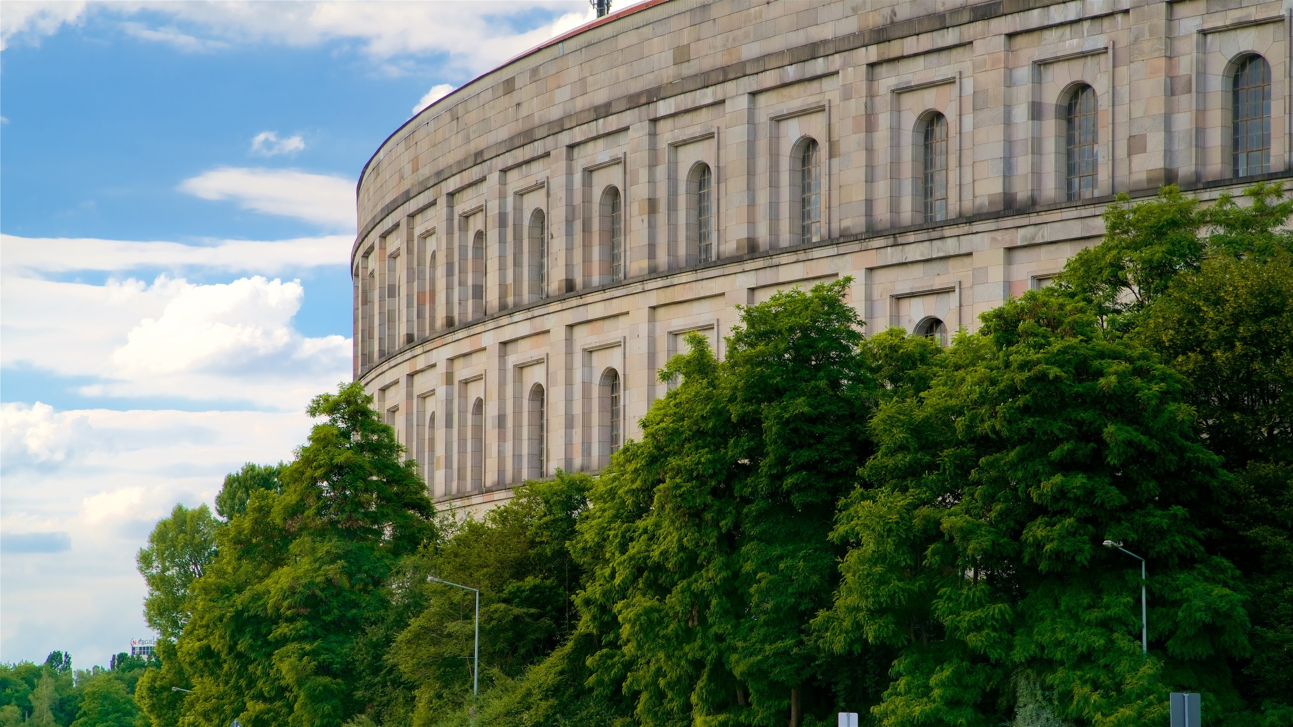 Explore the enormous former Party Rally Grounds of the Nazi Party and learn about significant historical moments and propaganda events that occurred here.
