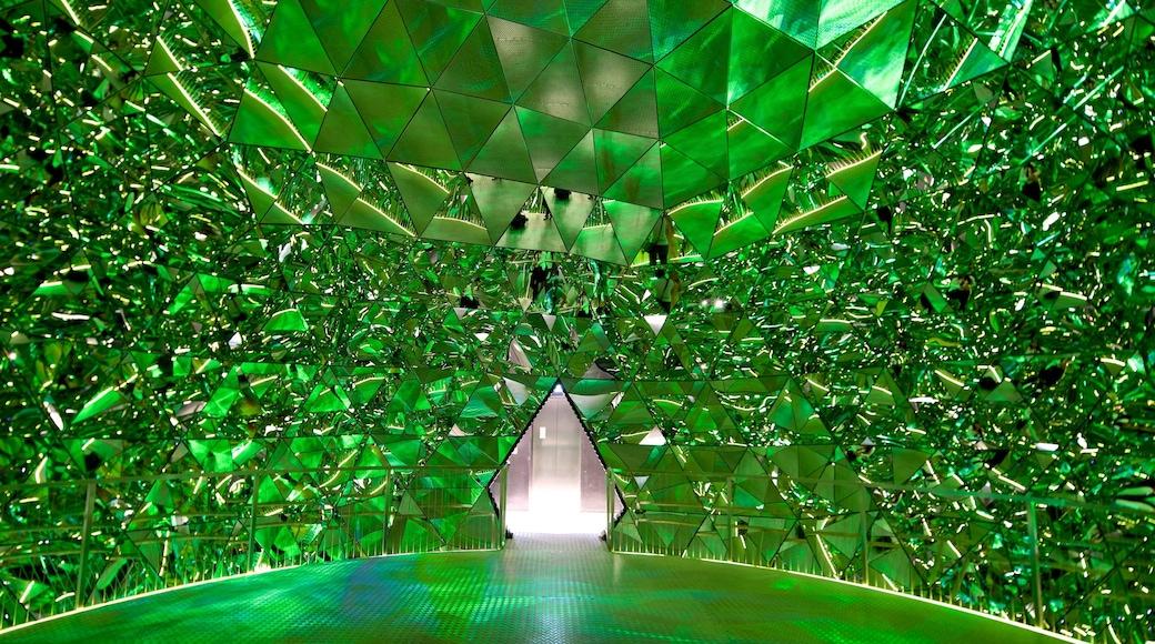 Swarowski Kristallwelten mit einem Innenansichten