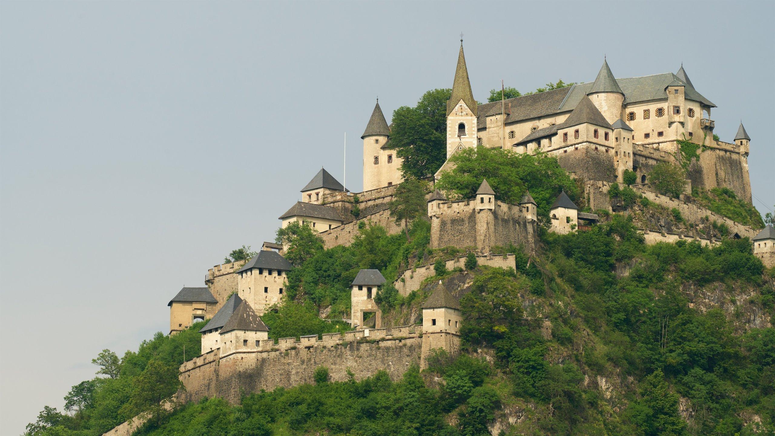 Burg Hochosterwitz, St. Georgen am Längsee, Kärnten, Österreich