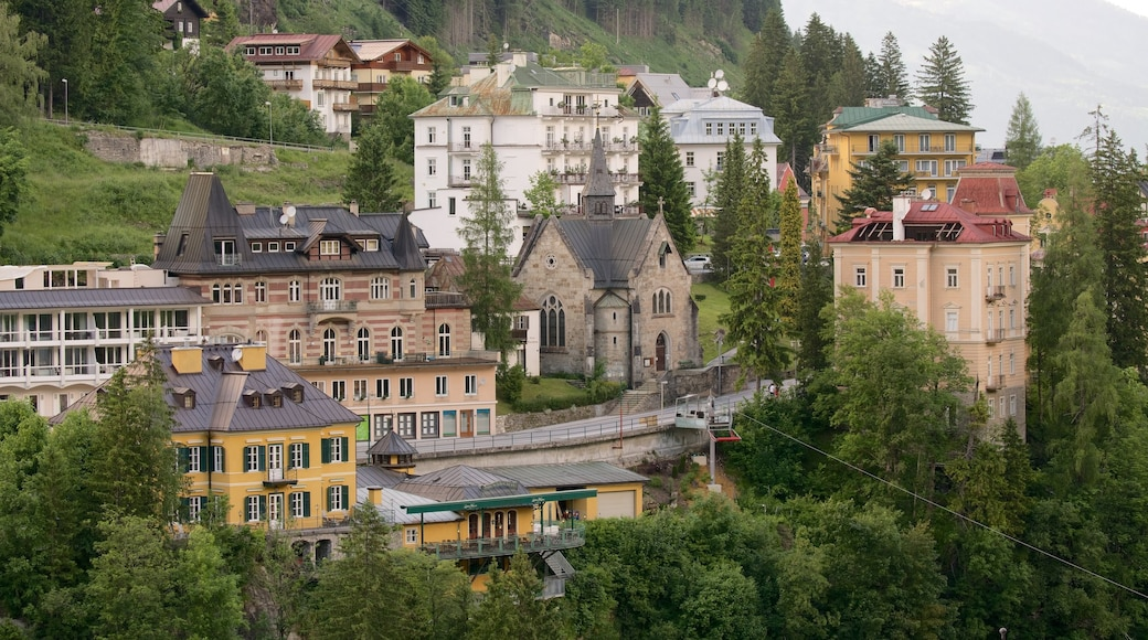 Bad Gastein - Pongau showing heritage elements
