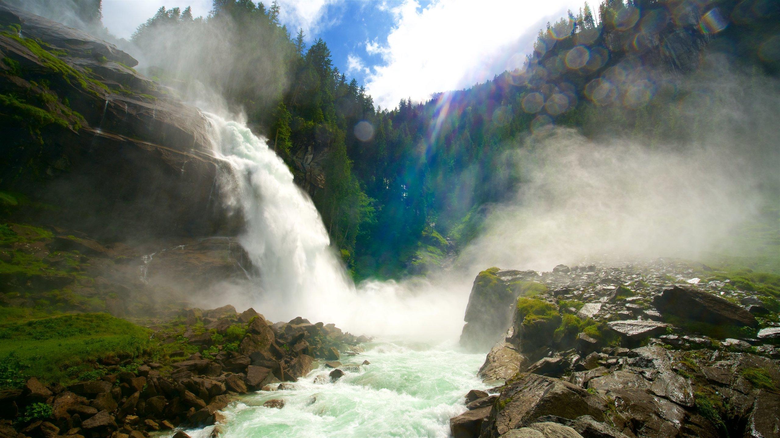 Krimmler Wasserfälle, Krimml, Salzburg (Bundesland), Österreich