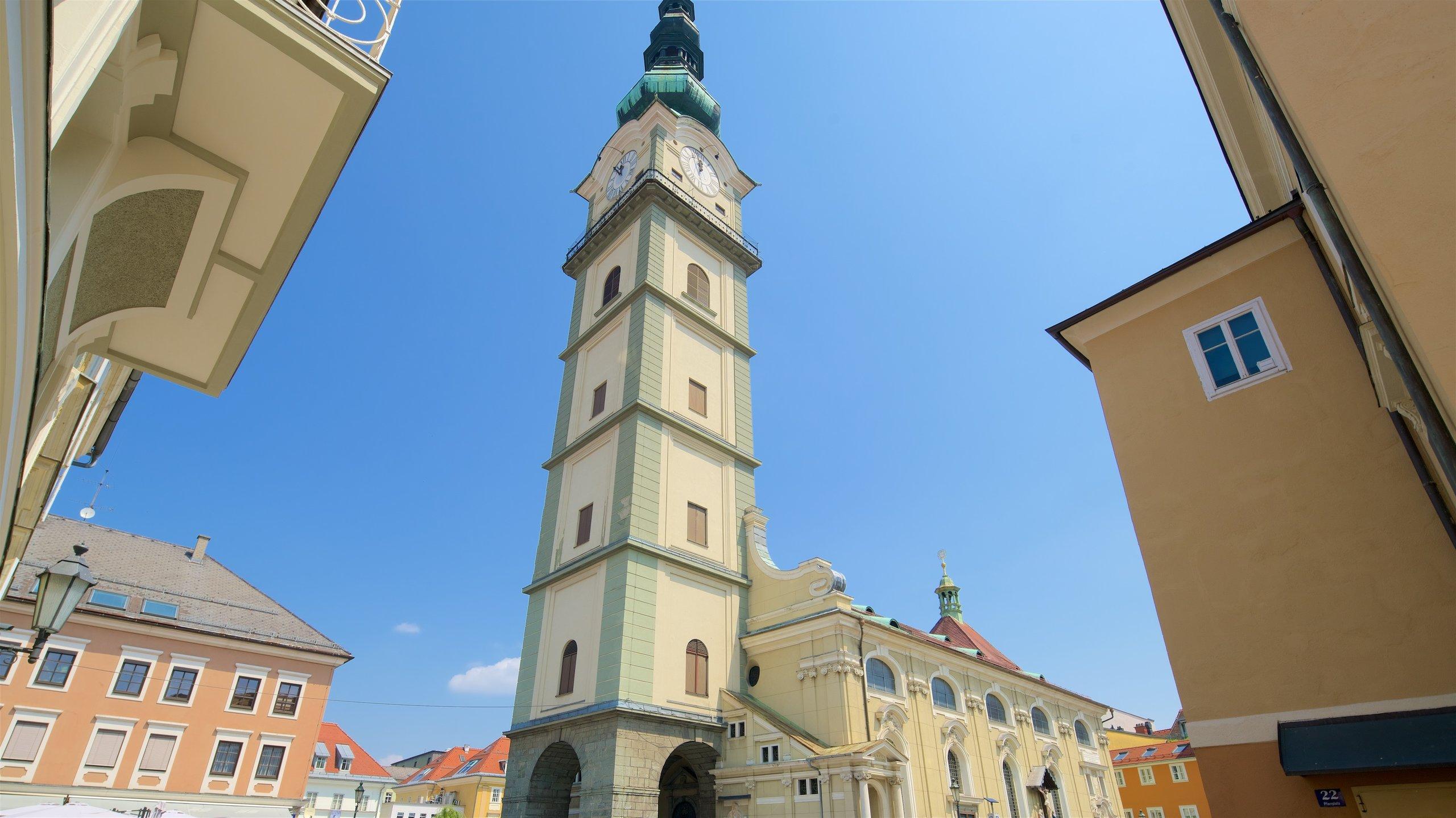 Klagenfurter Dom, Klagenfurt am Wörthersee, Kärnten, Österreich