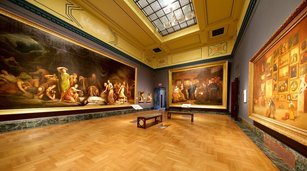 底特律藝術學院 设有 藝術 和 內部景觀