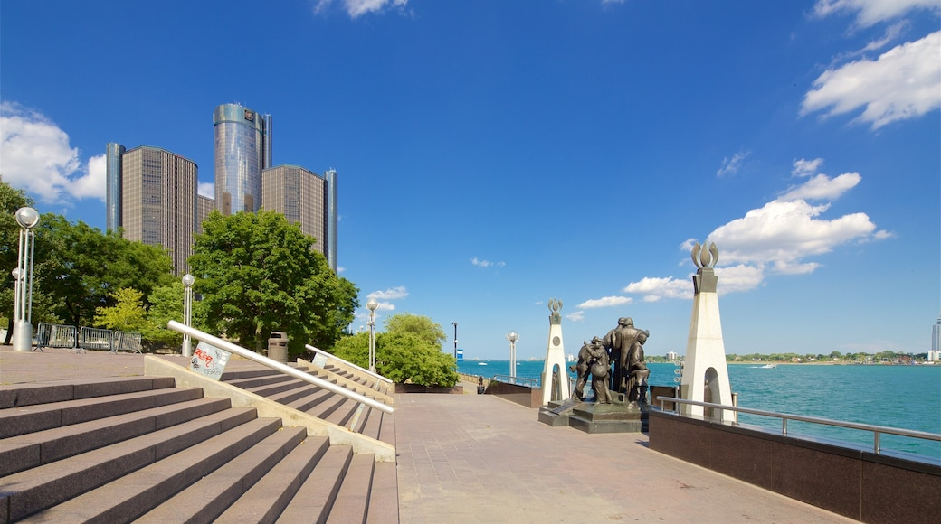 Detroit featuring a monument