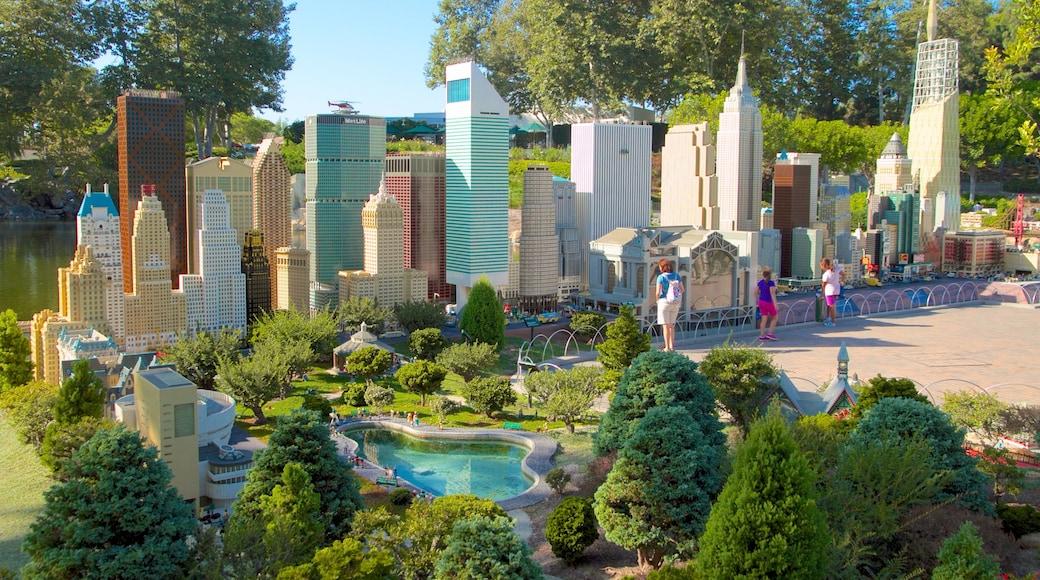 Legoland California showing rides