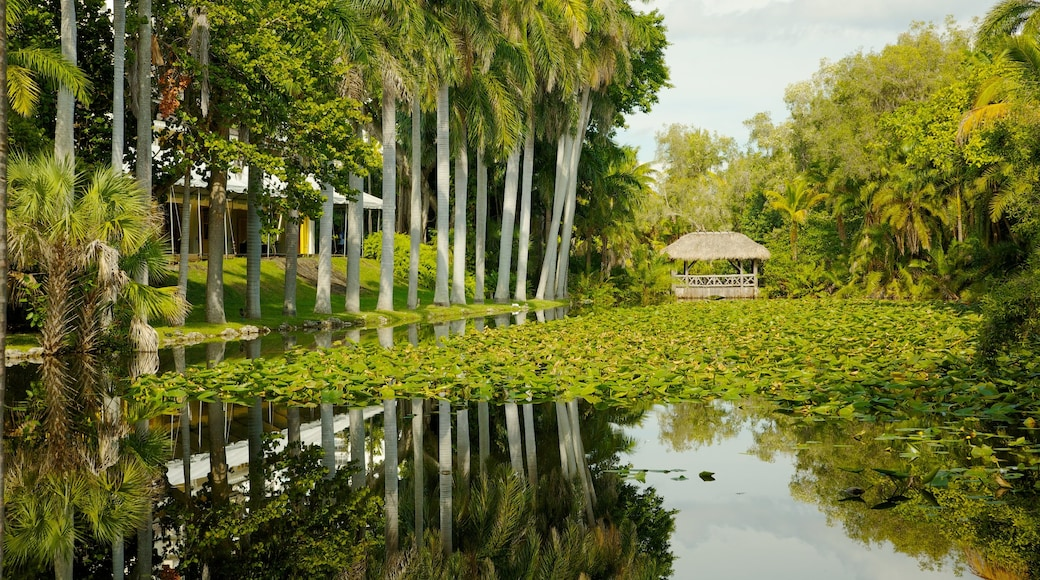Fort Lauderdale which includes a garden, a pond and landscape views