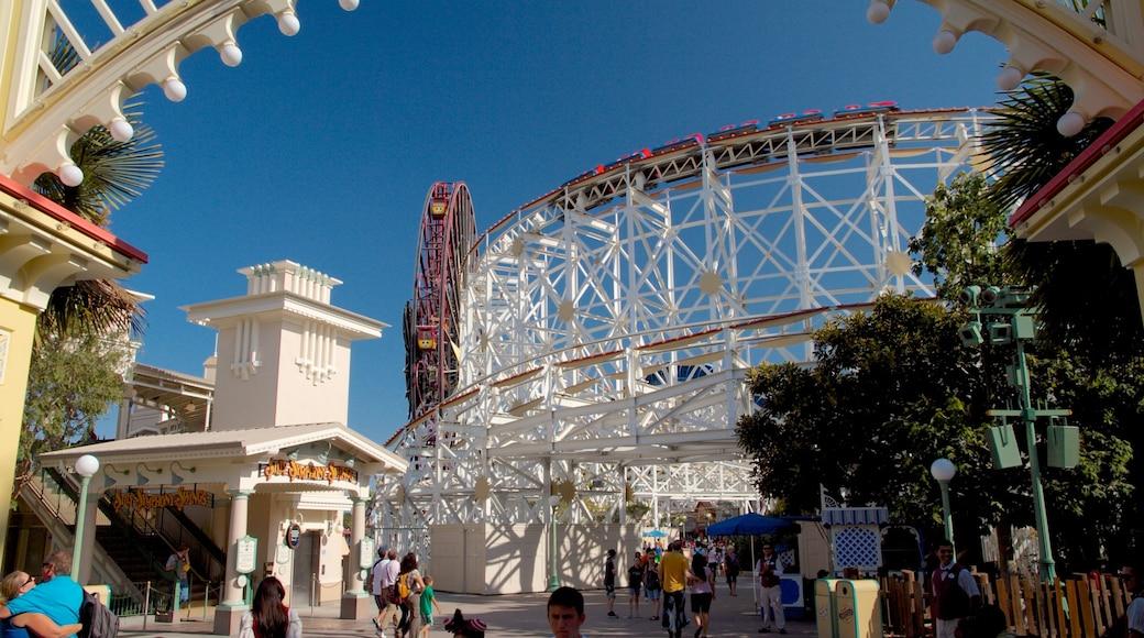 Disney California Adventure® Park featuring rides