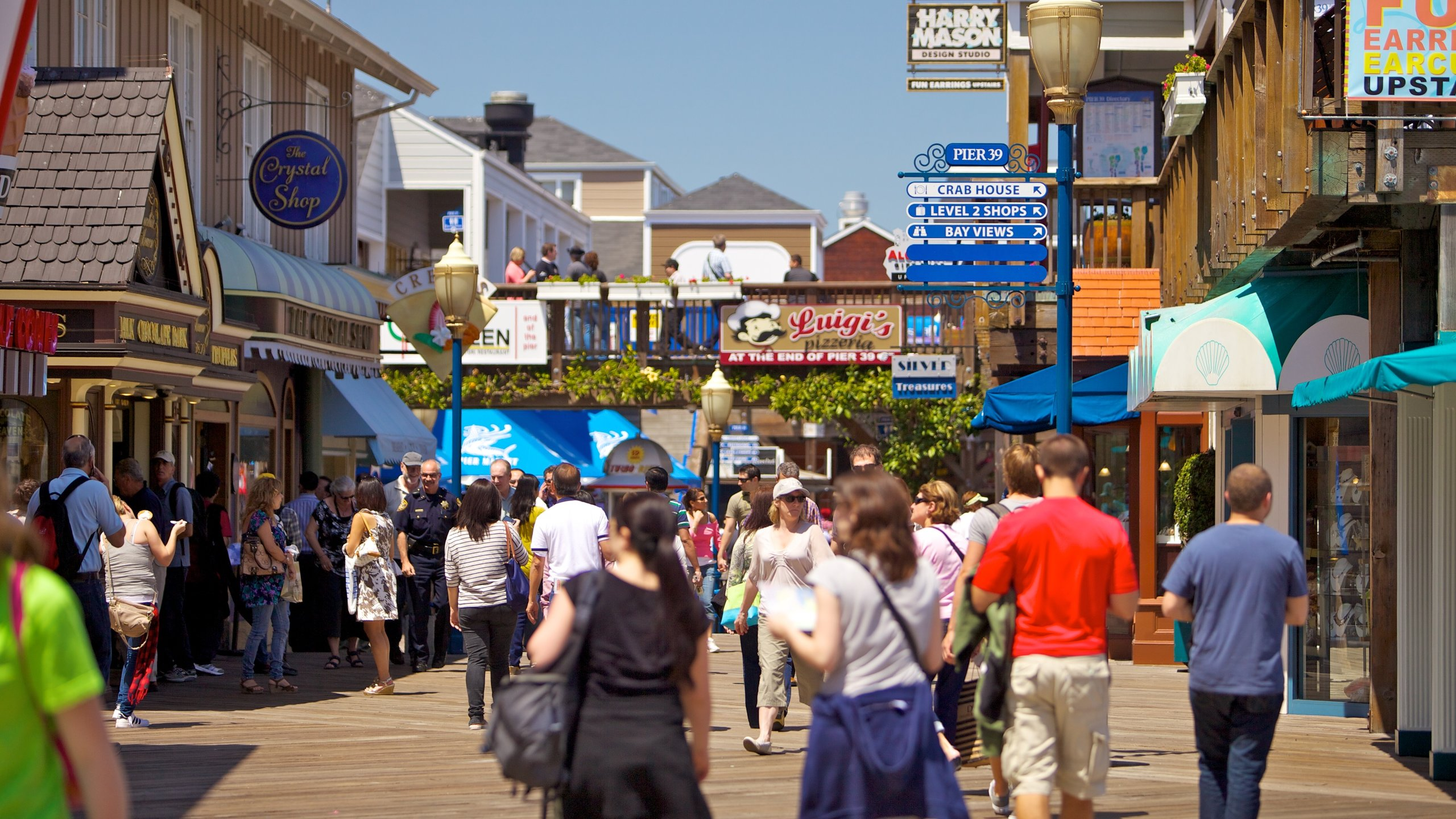 Pier 39, San Francisco, California, United States of America