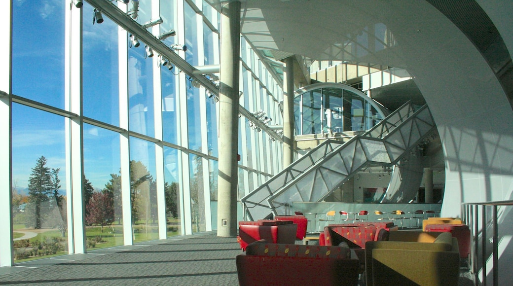 Denver Museum of Nature and Science showing interior views