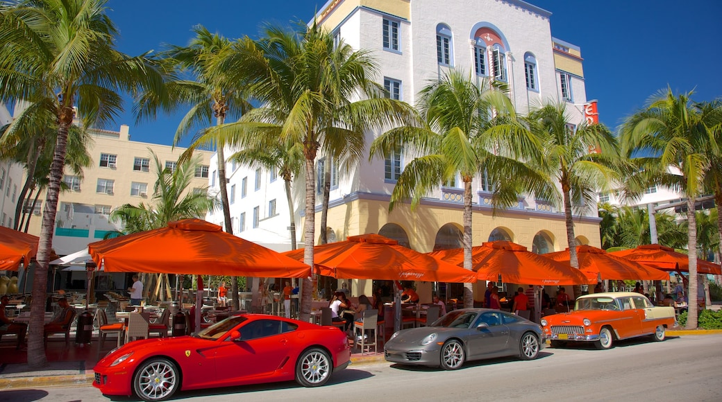 Miami Beach caratteristiche di strade e città