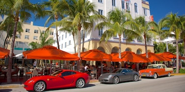 Miami Beach which includes a city and street scenes