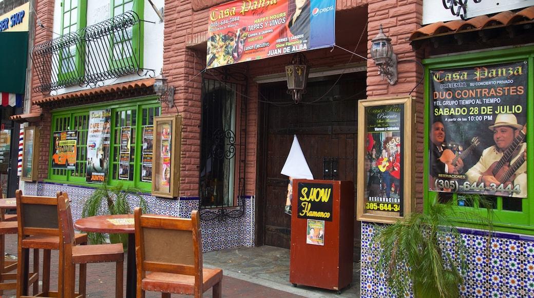 Little Havana showing a bar