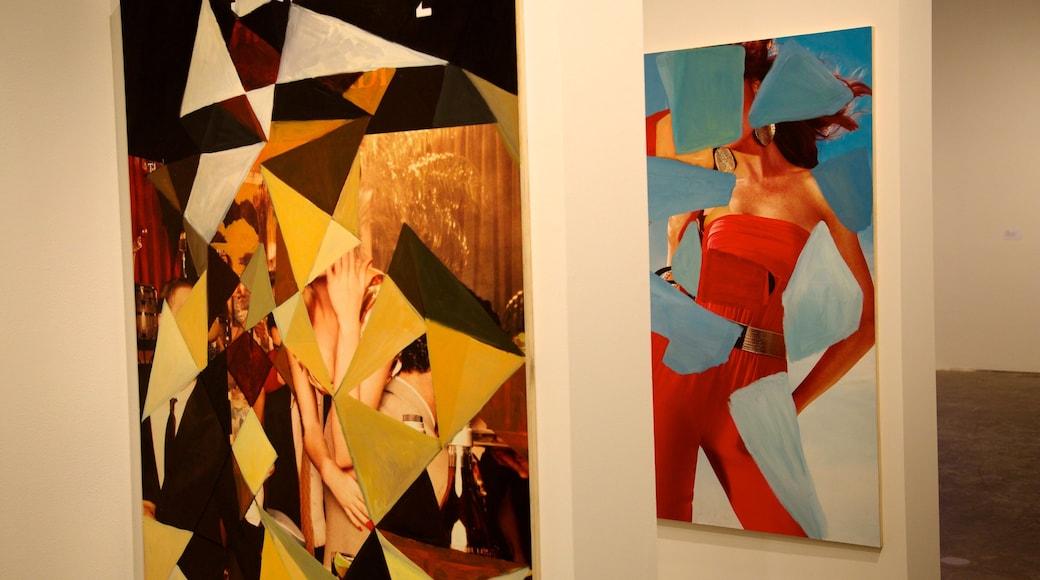 Perez Art Museum Miami bevat interieur en kunst