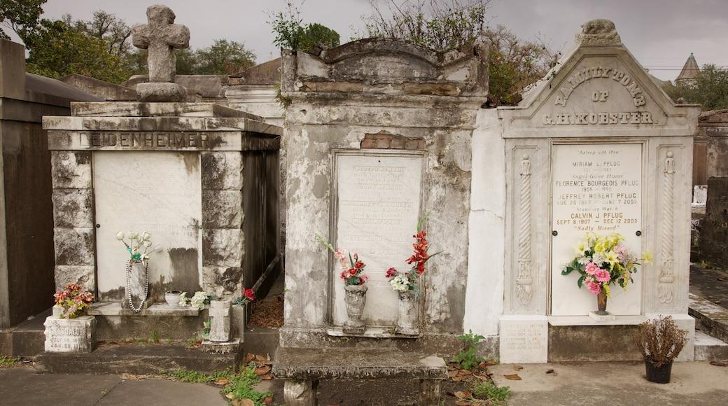 Lafayette Cemetery mit einem Friedhof