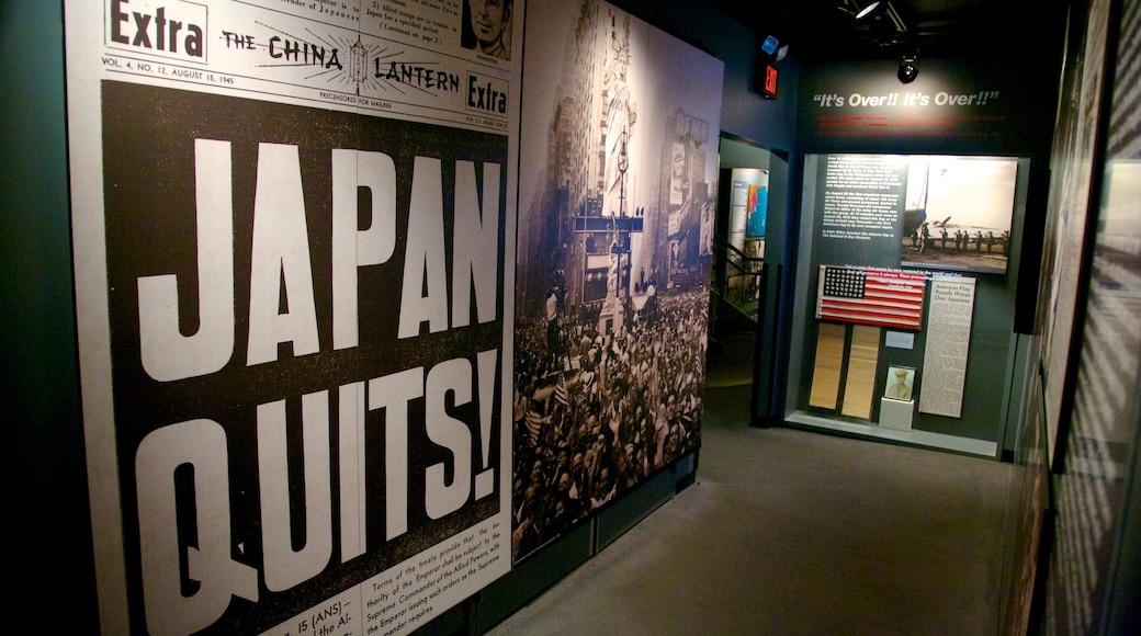 พิพิธภัณฑ์แห่งชาติสงครามโลกครั้งที่ 2 แสดง การตกแต่งภายใน