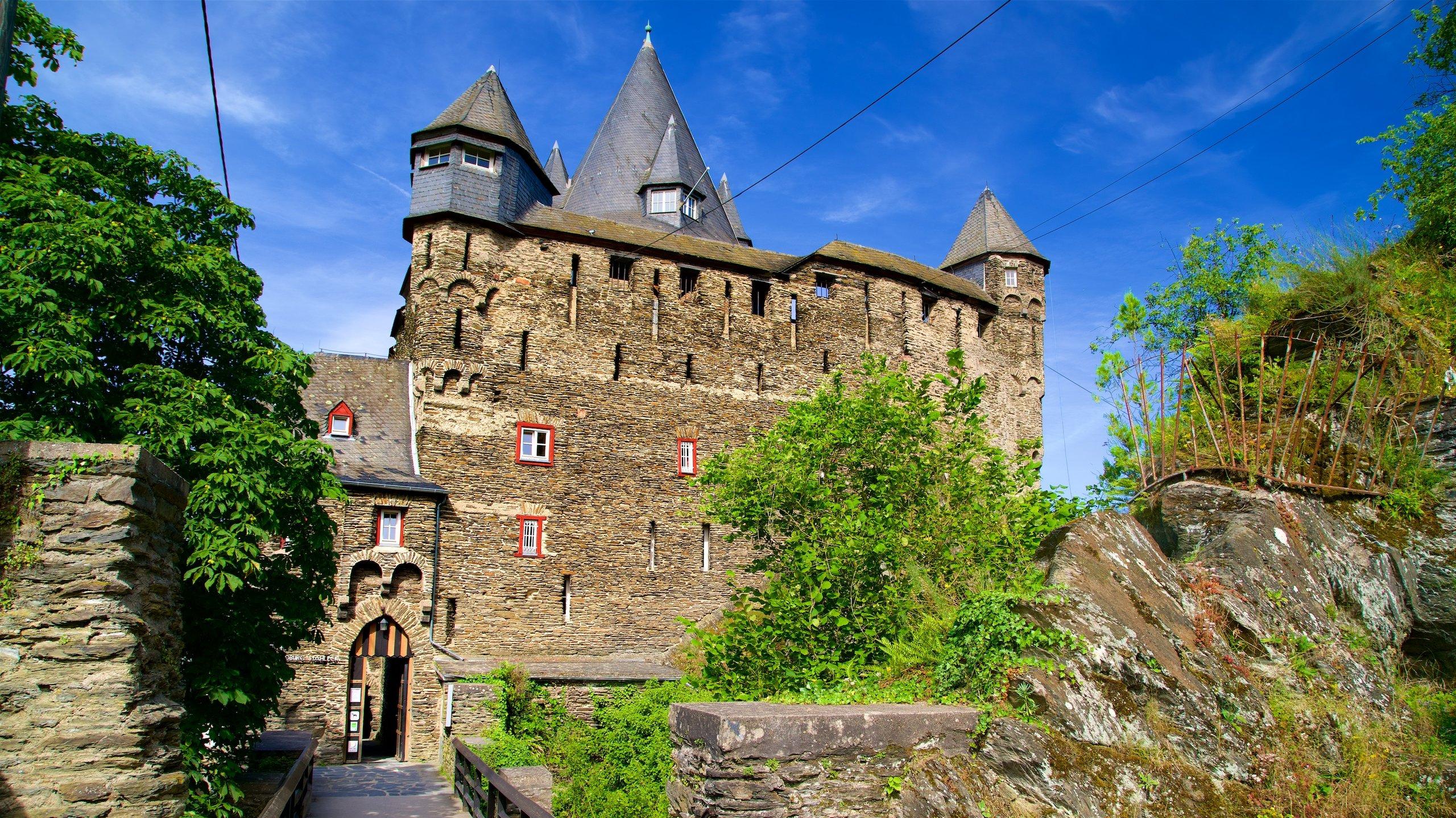 Stahleck Castle, Bacharach, Rhineland-Palatinate, Germany