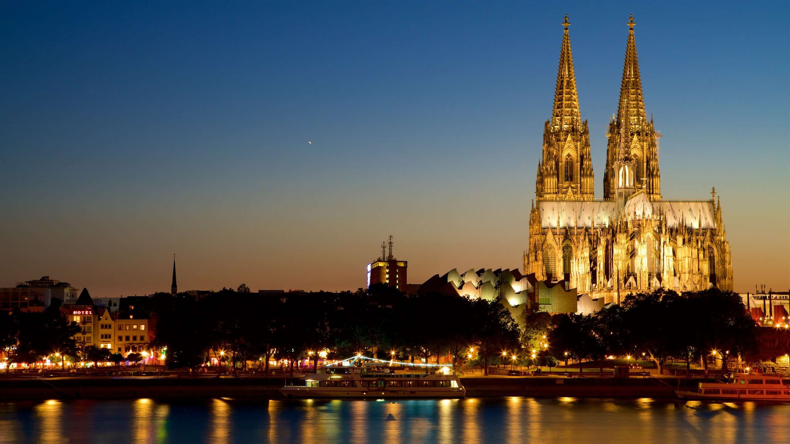 Marvel at the Gothic architecture and the shrine of the three wise men at one of the largest churches in the world.