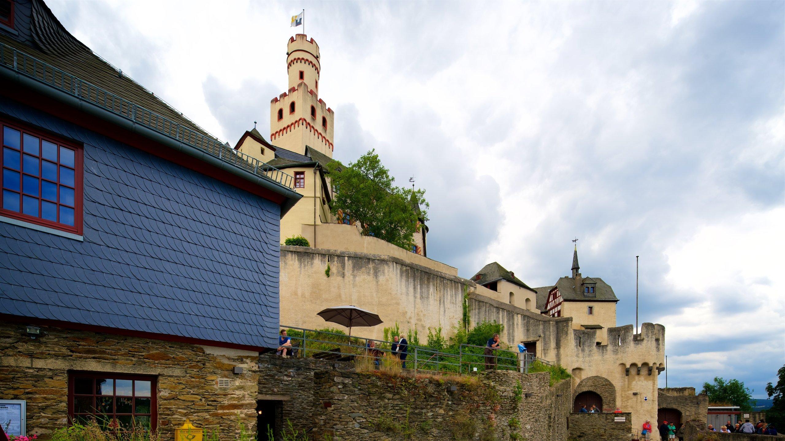 Marksburg Castle, Braubach, Rhineland-Palatinate, Germany