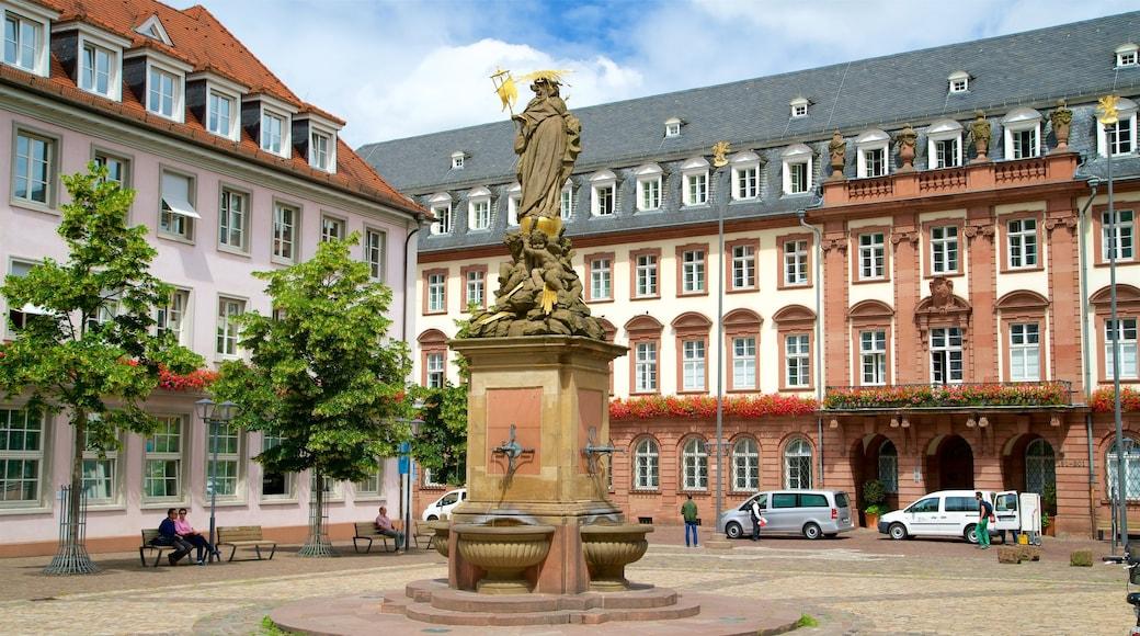 Marktplatz welches beinhaltet Statue oder Skulptur und Platz oder Plaza