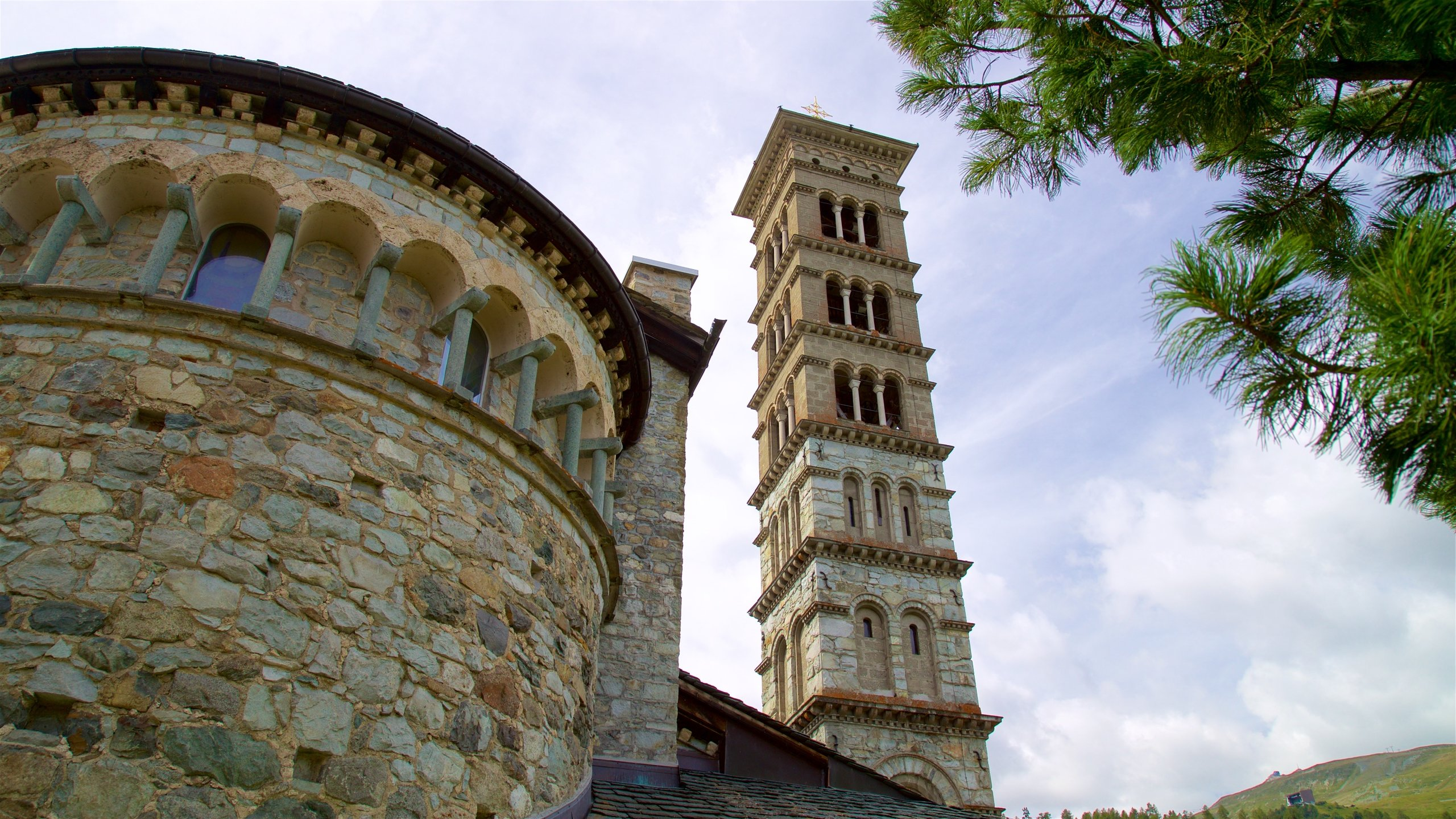 St. Moritz Leaning Tower, St. Moritz, Graubuenden, Switzerland