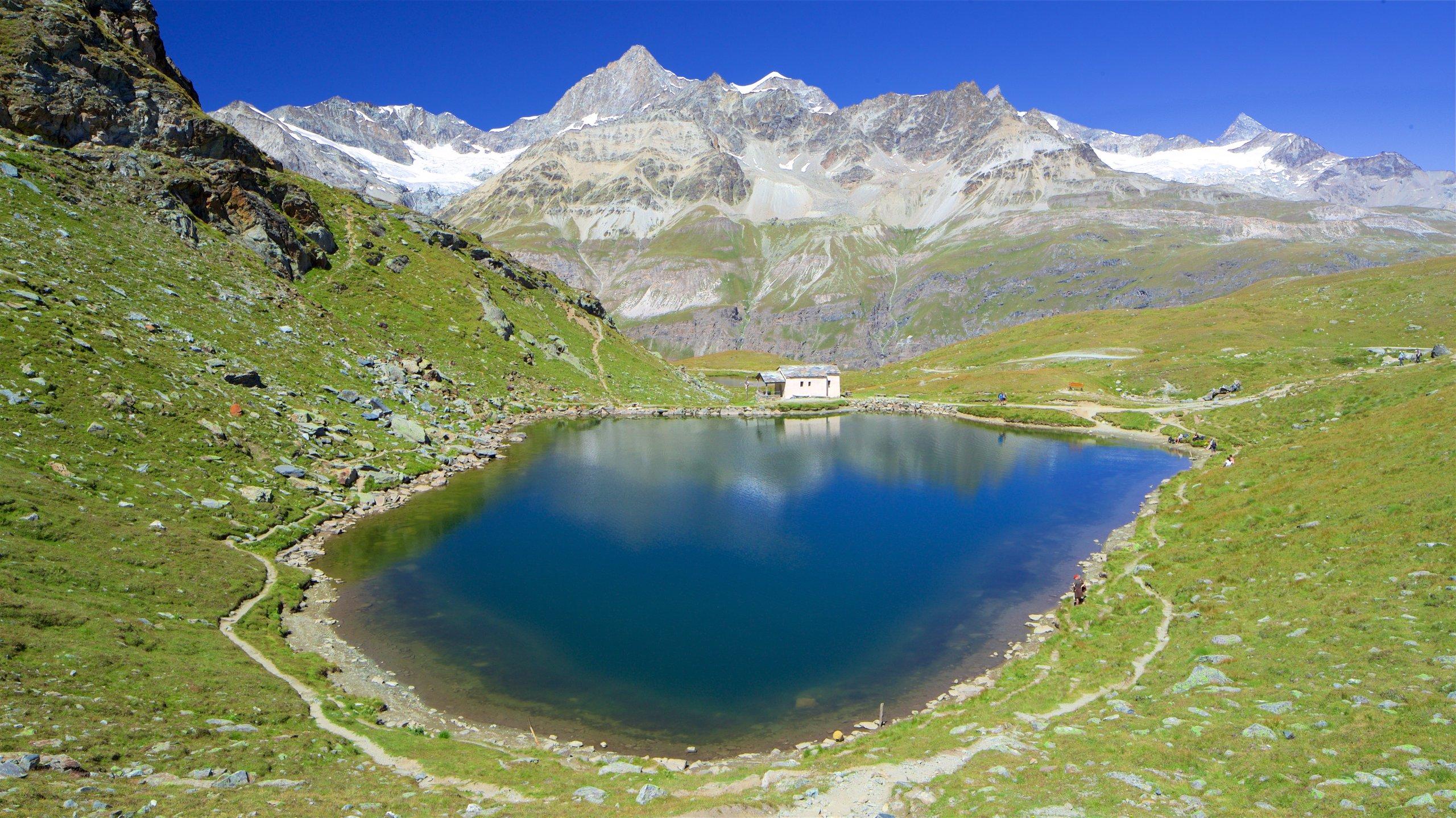 Schwarzeesjøen, Zermatt, Valais, Sveits