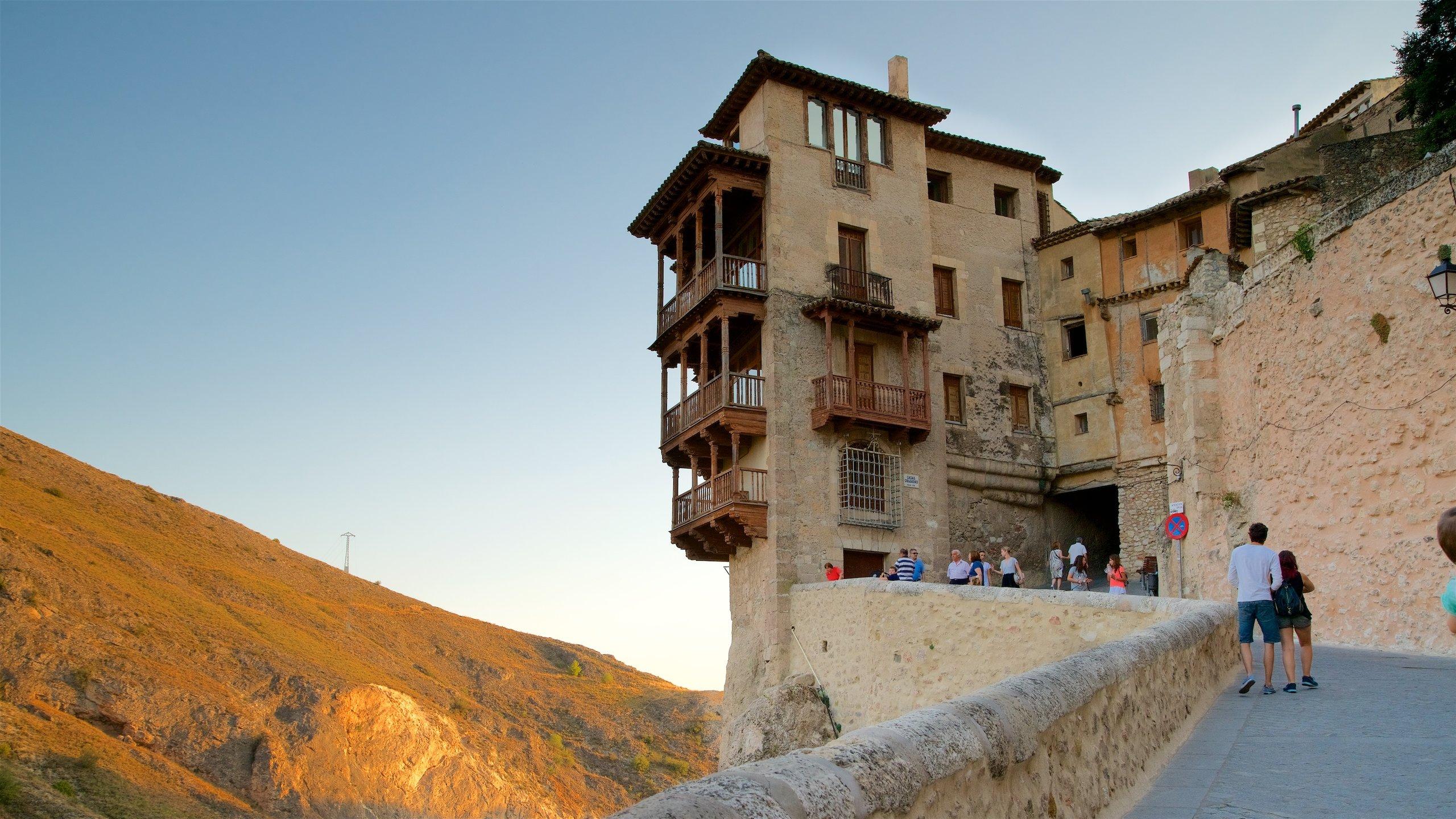 Hanging Houses of Cuenca, Cuenca, Castilla - La Mancha, Spain