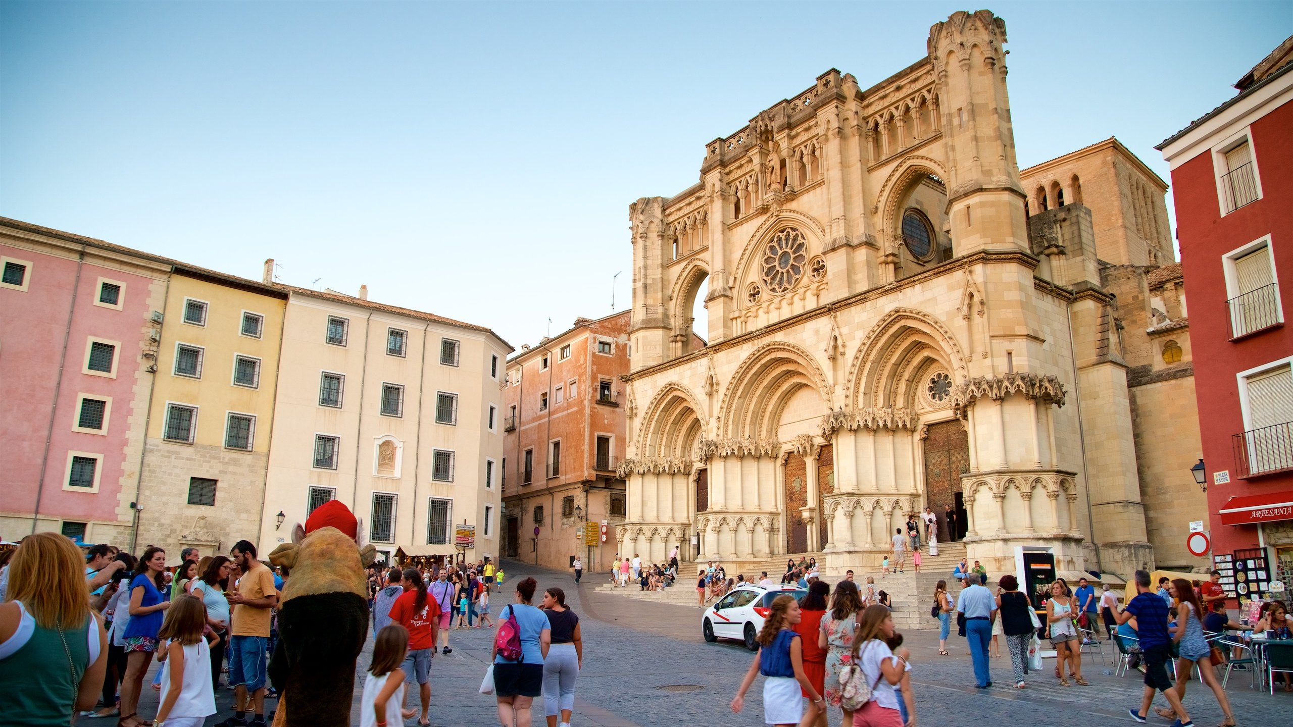 Old Town Cuenca, Cuenca, Castilla - La Mancha, Spain