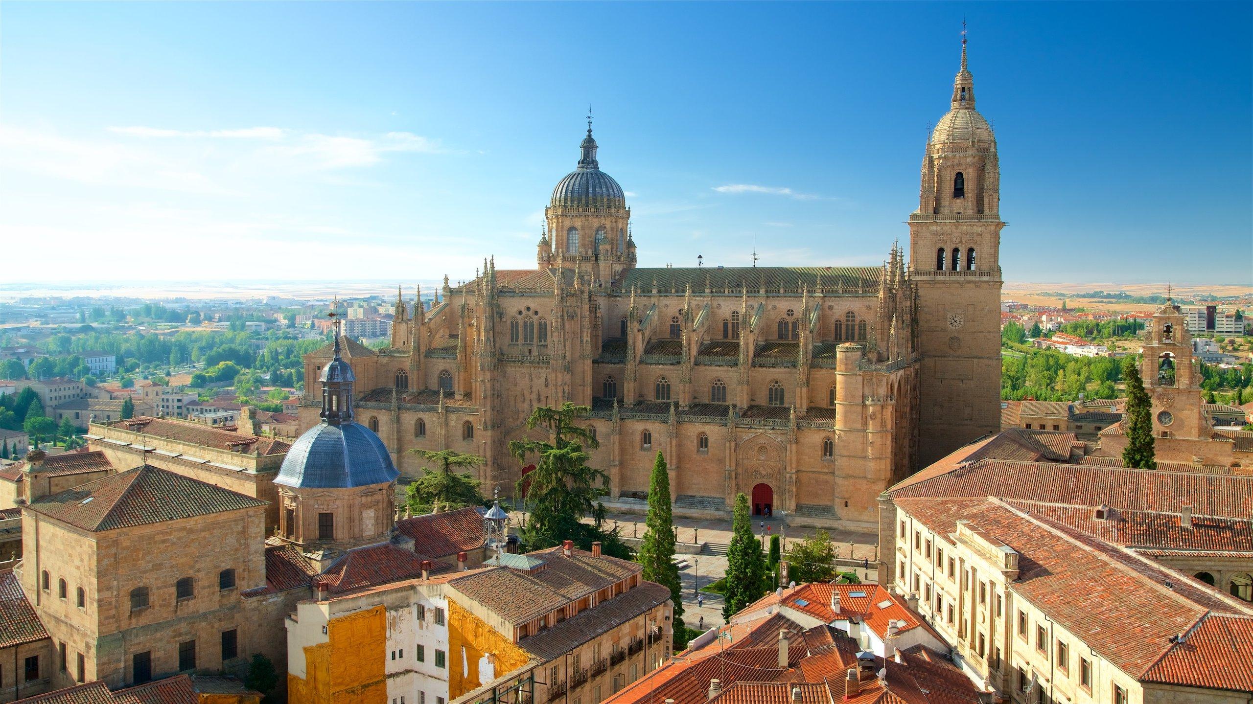 Ciudad vieja de Salamanca, Salamanca, Kastilien und León, Spanien